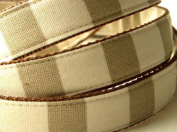 画像3: 綿麻 Stripe